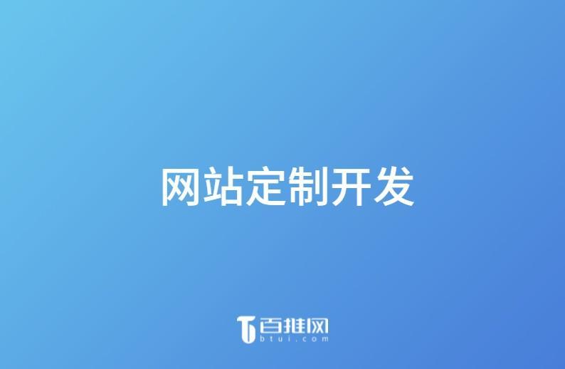 网站定制开发  第1张